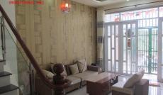 Cho thuê nhà đẹp 3 lầu, sân thượng, Huỳnh Tấn Phát, Nhà Bè, Dt 4x14m. Giá 8 triệu/tháng