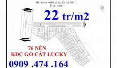 Chính thức nhận giữ chỗ khu dân cư Gò Cát, chỉ 22tr/m2, SHR Phú Hữu, Quận 9, LH 0909 474 164