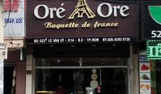 Chính chủ cần bán gấp tiệm bánh Ore Ore mặt tiền Lê Văn Sỹ, cho thuê 38 triệu/th