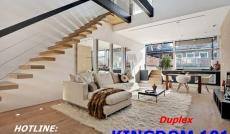 Bán căn hộ duplex Kingdom 101 MT Tô Hiến Thành, Q10, view hồ bơi cực đẹp chỉ 78tr/m2. LH 0909763212