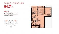 Gia đình cần bán căn hộ Lucky Palace, 2PN, quận 6 hoàn thiện 2.74 tỷ, căn lớn 85m2