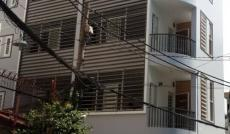 Cho thuê nhà HXH Nguyễn Bỉnh Khiêm, Q. 1, DTKV: 8x16m, hầm, trệt, lửng, 3 lầu, giá: 80tr/th