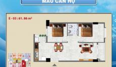 Bán căn hộ Tanibuilding Sơn Kỳ 1 62.6m2, 2 PN, 1 toilet
