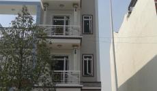 $Cho thuê nhà MT Đường 9A KDC Trung Sơn, Bình Chánh, DT: 5x20m, trệt, 4 lầu. Giá: 40tr/th