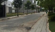 Nhượng lại 2 nền KDC Phú Lợi, P7, Q8, 5x24m, sổ đỏ, đối diện khu BT, cạnh cv, giá 17tr/m2