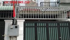 Nhà 1 trệt 1 lầu ngay đường Thạnh Lộc 37, P. Thạnh Lộc, Q12, TP. HCM