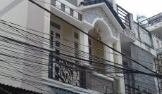Nhà mới 4m x 16m, 1 trệt, 2 lầu 355/196 Bình Long, giá 10tr/th