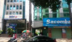 Cho thuê nhà góc 2 MT hẻm 122 Cao Thắng, Quận 3. DT: 8x18m 1 trệt 1 lửng 5 lầu Giá: 9000 USD NET