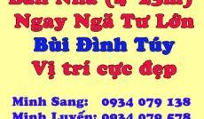 Bán Nhà Ngay Góc Ngã Tư Lớn đường Bùi Đình Túy, p24, Bình Thạnh- 9 tỷ TL