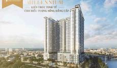 Bán căn hộ Millennium Q. 4, 2 phòng ngủ, view sông Bến Vân Đồn, giá tốt 3,6 tỷ. LH 0909.038.909