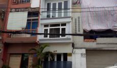Cho thuê nhà mặt phố đường Tạ Quang Bửu, Phường 5, Quận 8, DT: 4.5x20m, 1 trệt, 3 lầu, giá 30tr/th
