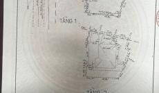 Bán nhà MT số 6 đường Nguyễn Văn Đậu, P. 5, Q. Phú Nhuận, 8,5 x 35m, nở hậu 20m, 2 lầu + ST