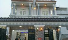 Bán nhà mới thiết kế sang trọng, mặt tiền 7m Khu Sài Gòn Mới, Nhà Bè, DT4x18m. Giá 3,99 tỷ