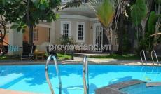 Bán biệt thự nằm trong khu compound Thảo Điền, 352m2, 1 trệt 2 lầu, 4pn
