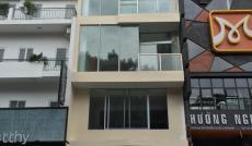 Cho thuê nhà MT Sư Vạn Hạnh, Q.10, DT: 4x20m, trệt, lửng, 4 lầu, st, thang máy. Giá: T/L