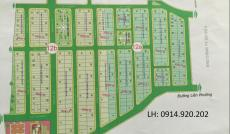 Bán gấp lô đất Hưng Phú 1, DT 10x18,5m, trục chính 12m, hướng ĐN, giá 32,5 tr/m2. LH 0914.920.202