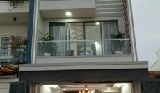 Cần bán nhà mới thiết kế đẹp lộng lẫy, mặt tiền đường số Phạm Hữu Lầu, Q7, DT 5x18m. Giá 7,48 tỷ