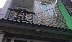 Cần vốn làm ăn bán gấp nhà mới xây hẻm Hoài Thanh, Q.8, DT 3.2m x 7.4m, Nh 3.46m, giá 2.35 tỷ(TL)