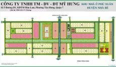 Bán đất nền nhà phố KDC Phú Xuân, Nhà Bè, giá 19.5 tr/m2. LH: 0966.222.151 (Hương)