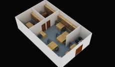 Cho thuê văn phòng làm việc tại quận Tân Bình, diện tích 85m2, giá 25 triệu/tháng