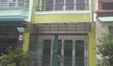 Cho thuê nhà MT đường số 30, KDC Bình Phú, Q.6, DT 4x14, giá 12tr/tháng.