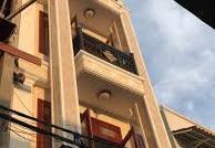 Nhà mặt tiền Phạm Viết Chánh góc Cống Quỳnh, ngang 5.1x15m, NH 13.5m, 4 lầu đối diện Từ Dũ
