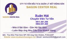 Bán 2 căn liền kề 8x13m. Mặt tiền ngay khu Phan Xích Long, Miếu Nổi, gần Phường 2, Quận Phú Nhuận