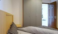 Cần cho thuê gấp 1 căn hộ Sky Center vừa ở, vừa làm văn phòng được, giá 8tr/th, LH 0938826595