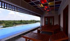 Biệt thự đơn lập ven sông Q. 7, Nhà mới, hồ bơi riêng trong nhà, giá rẻ
