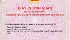 Cần bán lô đất mặt tiền đường Nguyễn Xiển, giá rẻ, LH: 0933125681