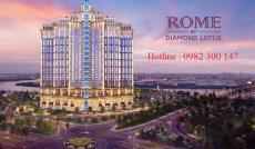 Booking giữ vị trí đẹp nhất dự án Rome Diamond Lotus Q2, kiến trúc cổ điển Châu Âu