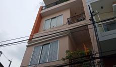 Nhà hẻm 7m Nơ Trang Long, P7. DT 4x12m, 3 lầu, giá 6,4 tỷ/TL