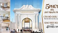 Bán căn hộ Grand Riverside, MT Bến Vân Đồn, Quận 4, nhận nhà ở ngay, tặng gói nội thất 100 triệu
