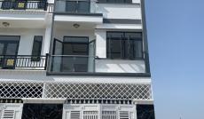 Cần bán nhà mới hẻm 2177 Huỳnh Tấn Phát, Nhà Bè, Dt 5,2x10m, 3 lầu, sân thượng. Giá 4,35 tỷ