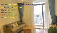 Cho thuê 2PN Vinhomes Central Park, full nội thất, 18.9 tr/th. 0903 168 519, view sông Sài Gòn