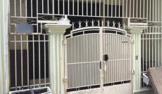 Nhà NC 1 lầu cho thuê DT 4x12m, HXT thông ra Nơ Trang Long, ở và làm VP công ty, giá thuê 10 tr/th
