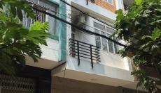 Cho thuê nhà MT đường Hậu Giang, P. 12, Q. 6, DT 4x20m, 1 trệt 2 lầu, giá 50 tr/tháng