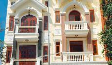 Bán nhà khu tái định cư đường Phạm Hữu Lầu Quận 7, TP Hồ Chí Minh. DT 360m2, 3 lầu sân thượng
