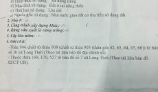 Bán đất sát mặt tiền hẻm 274, Nguyễn Văn Tạo, 6.8x12m, 2.35 tỷ