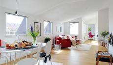 Cho thuê căn hộ Lotus Garden, DT 80m2, 3PN, full nội thất