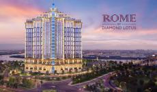 Rome Diamond Lotus, thiết kế La Mã, tọa lạc tại mặt tiền Mai Chí Thọ. LH 091.842.1414