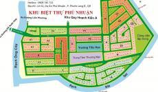 Chủ đất cần tiền bán gấp lô A1, góc hai mặt tiền sông, dự án Phú Nhuận, Q9