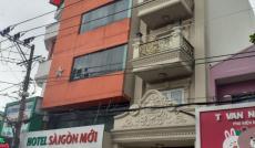 Bán khách sạn MTKD  Nguyễn Súy Q,Tân Phú   6,4x20  1 hâm 5 lầu st