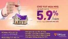 Ngân hàng cho vay mua BĐS/CĂN HỘ, xây sửa nhà, tiêu dùng