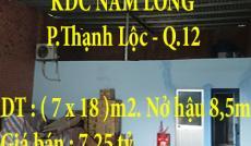 CHÍNH CHỦ BÁN KHO KDC NAM LONG, QUẬN 12