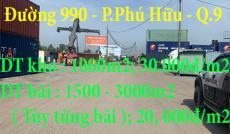 Chính Chủ Cần Cho Thuê Kho Và Bãi Đậu Xe Gía Rẻ , Phường Phú Hữu , Quận 9. TP HCM