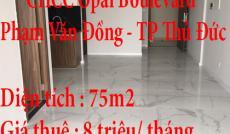 Chính Chủ cần Cho thuê nhà 2PN_2WC ở Opal Boulevard (Phạm Văn Đồng) Quận Thủ Đức Tp Hcm.