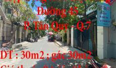 Chính chủ sang lại hợp đồng thuê mặt bằng tại Đường 45, P. Tân Quy, Quận 7 ,TP. HCM