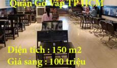 Chính chủ cần Sang quán cà phê milano Phường 11 Quận Gò Vấp TP HCM