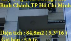 Chính Chủ Cần Bán Nhà Mới Xây Ở Ấp 5 Xã Phong Phú, Bình Chánh, thành phố Hồ Chí Minh